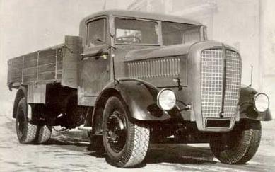 Грузовик Praga ND с дизельным двигателем