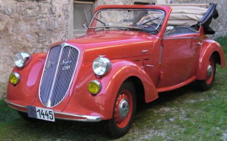 Кабриолет Steyr-120 Super