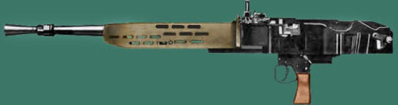 Танковый пулемет BESA Mk-II