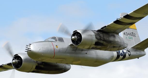 Бомбардировщик Douglas A-26B Invader