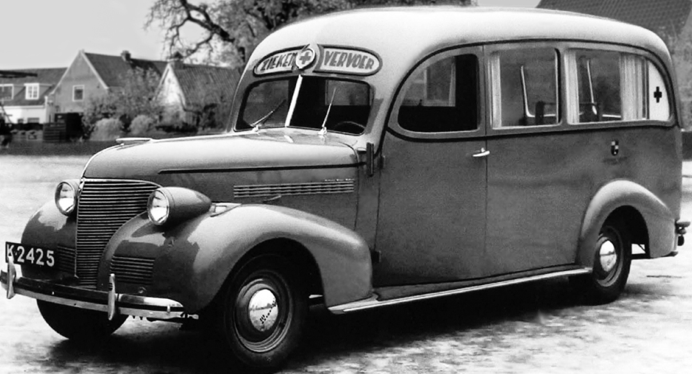 Санитарная машина Chevrolet Master