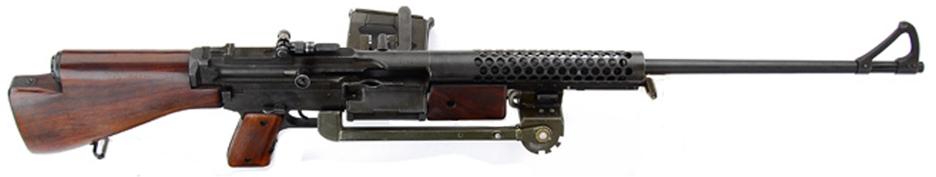 Ручной пулемет Johnson M-1941