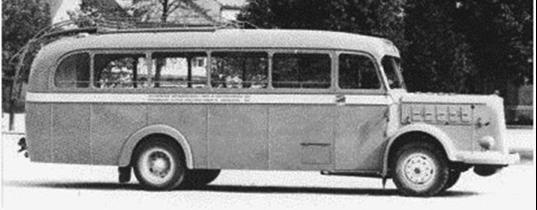 Автобус Praga NDO