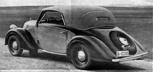 Кабриолет Steyr-200