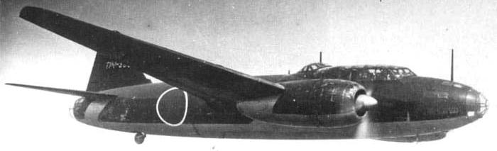 Бомбардировщик Mitsubishi G-4M1