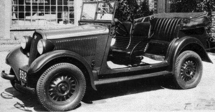 Внедорожник Polski Fiat 508-III W (Lazik)