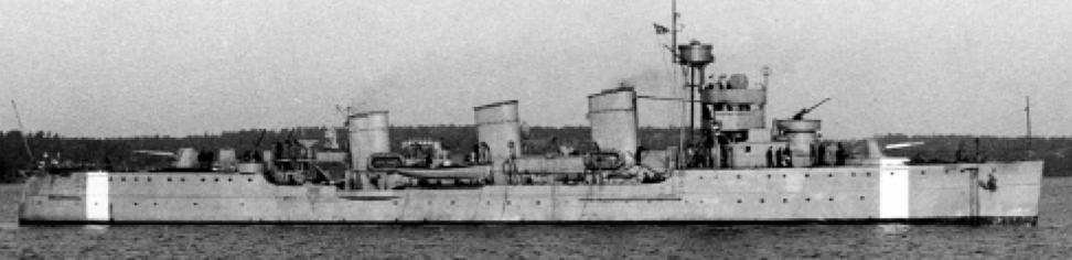 Минный крейсер «Clas Fleming»