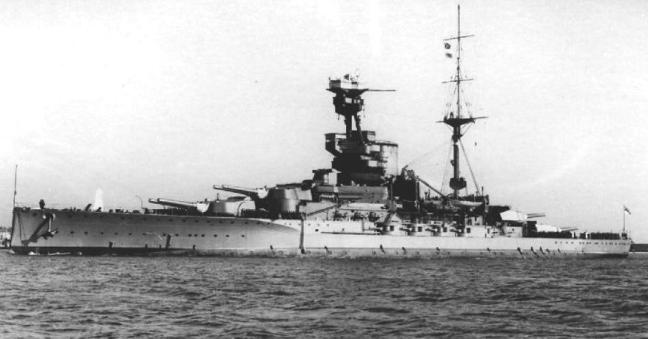 Линейный корабль «Revenge»