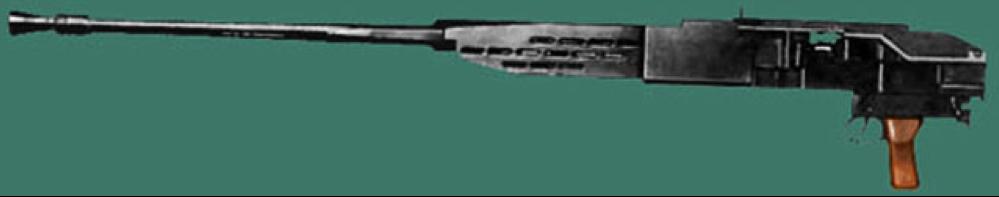 Танковый крупнокалиберный пулемет Besa Mk-1