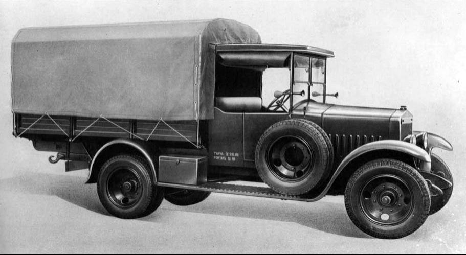 Бортовой грузовик SPA 25 С-10
