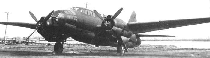 Бомбардировщик Mitsubishi G-4M2A