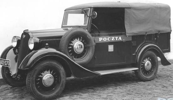 Фургон Polski Fiat 508-III