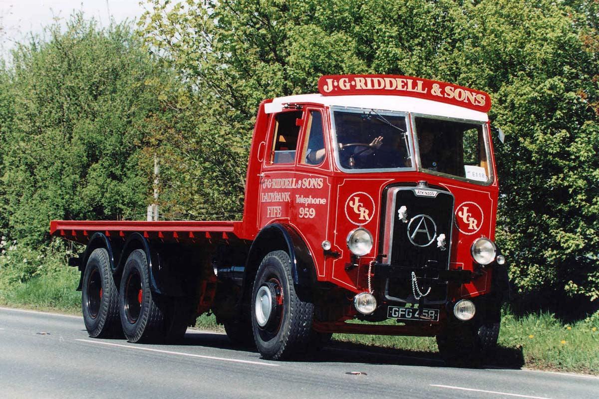 Грузовик Atkinson L-1265
