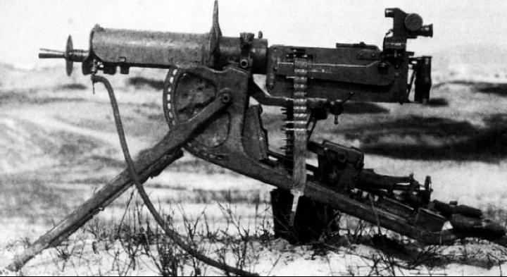 Станковый пулемет MG-08
