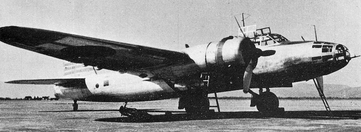 Бомбардировщик Mitsubishi Ki-21