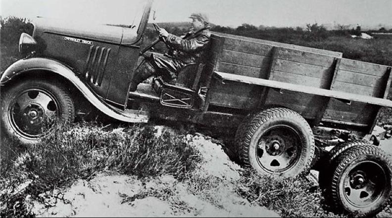 Внедорожник Chevrolet DAF Trado