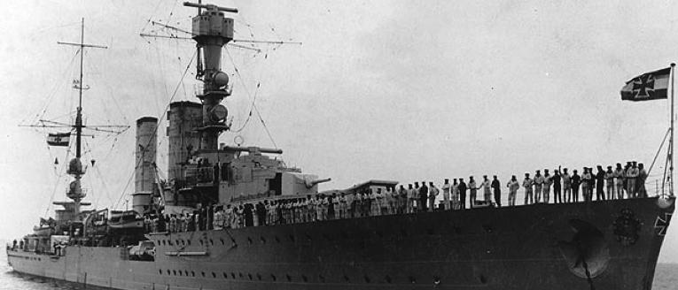 Крейсер «Dalmacija» (Niobe)
