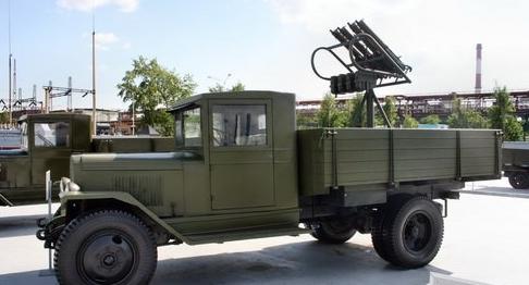 Зенитный пулемет на базе ЗИС-5У