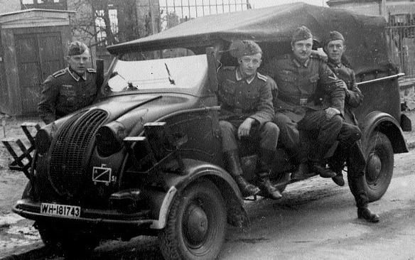 Штабной автомобиль Steyr-250