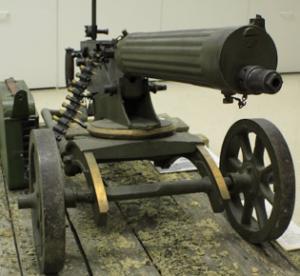 Станковый пулемет Maxim M/09-21