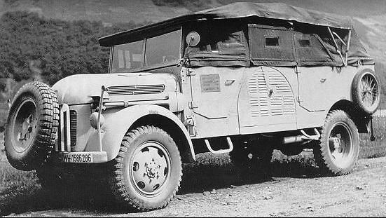 Внедорожник 270 Steyr/1500A (Kfz 01/70)