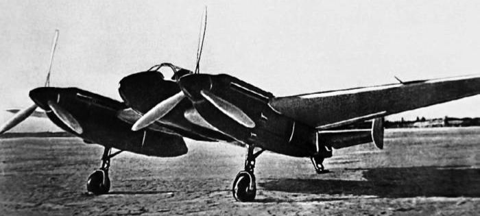 Легкий бомбардировщик Як-2