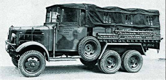 Грузовик Magirus М-206