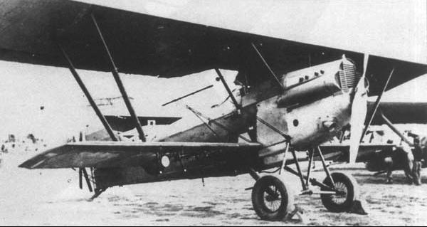 Бомбардировщик Potez 25TOE
