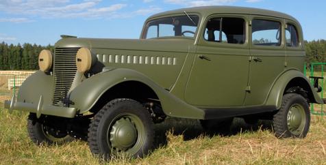 Полноприводный автомобиль ГАЗ-61-73