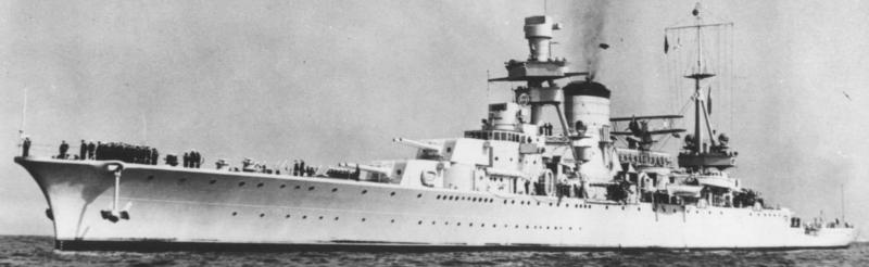 Тяжелый крейсер «Venticinko de Mayo (25 de Mayo)» (С-2)
