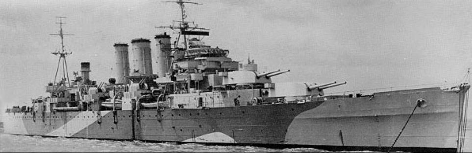 Тяжелый крейсер «Norfolk»