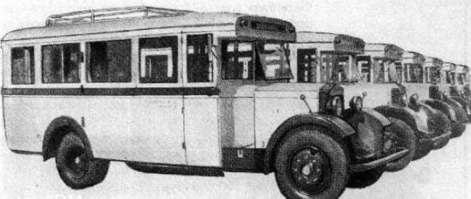 Автобус Polski-Fiat  621-R