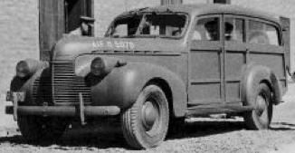 Автомобиль Chevrolet Australia Wagon (военная версия)
