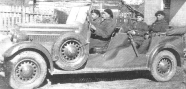 Внедорожник Polski Fiat-518