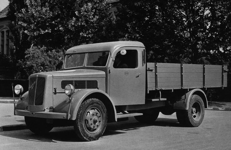 Бортовой грузовик Raba Super (AF-I2)