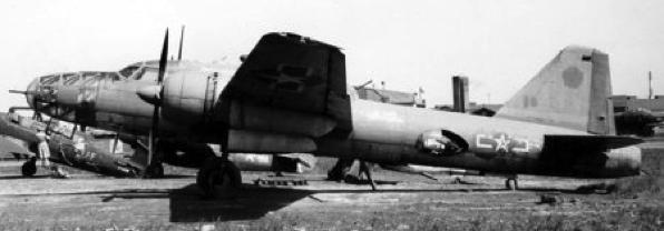 Бомбардировщик Mitsubishi Ki-67 Hiryu