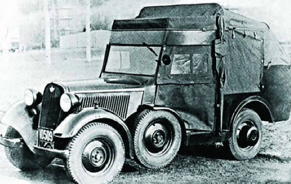 Внедорожник связи Polski Fiat-508/518