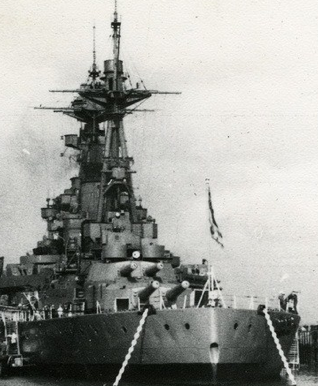 Линейный корабль «Ramillies»