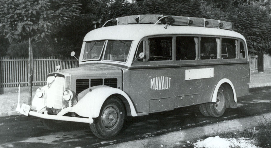 Автобус на базе шасси грузовика Raba Special