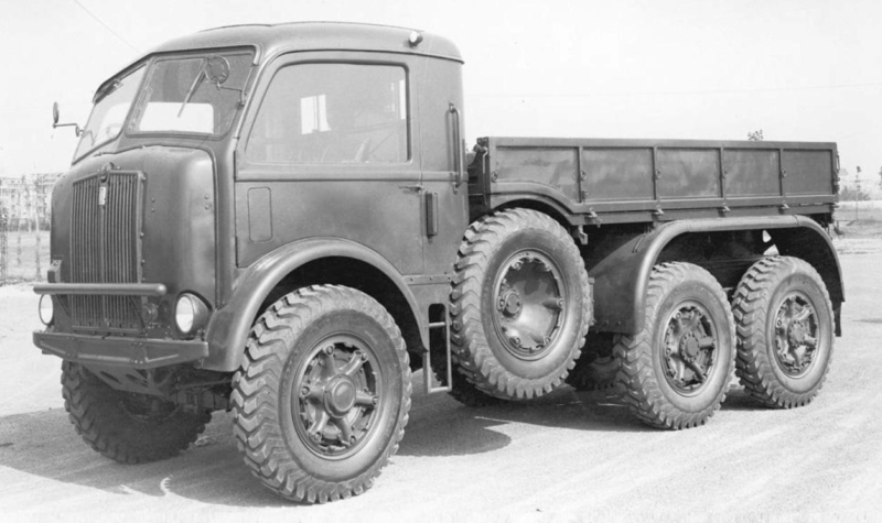 Бортовой грузовик Dovunque SPA-41