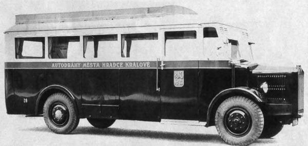 Автобус Tatra 27-А