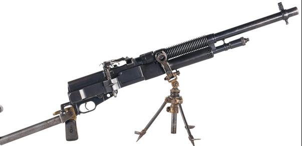 Ручной пулемет Hotchkiss Mle 1909