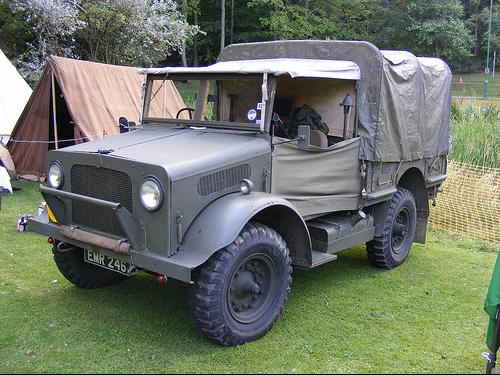 Автомобиль Bedford MWG