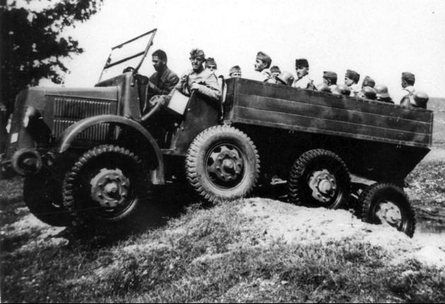 Грузовик Raba 38-М (Botond І)