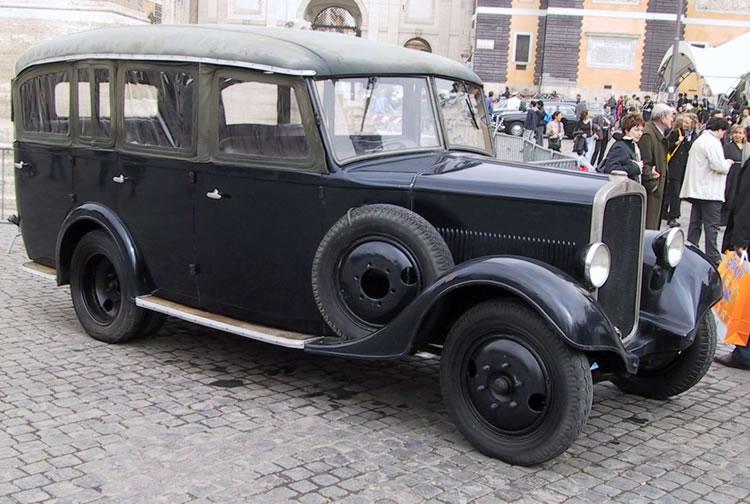 Санитарная машина на базе Fiat 618-МС