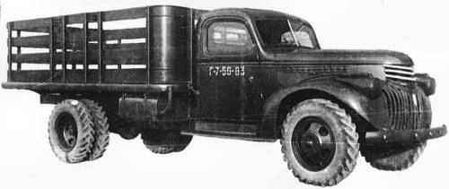 Бортовой грузовик Chevrolet-3116