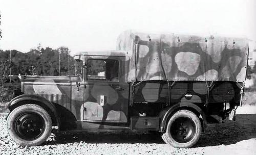Бортовой грузовик Fiat 618-МС