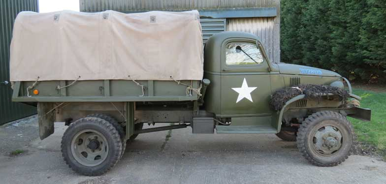 Бортовой грузовик Cevrolet G-4112