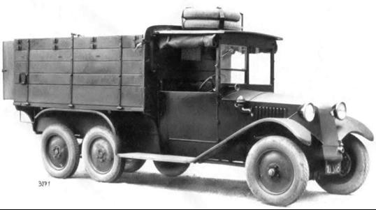 Грузовик Tatra 26/30