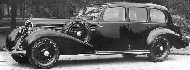 Лимузин Steyr-630